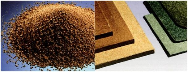 PCM (phase change material)-warmteopslag in ruwe en verwerkte materialen